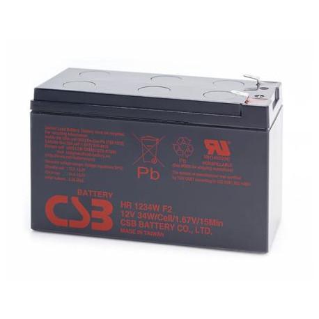 CSB HR1224WF2 12 Volt 6.5 AH Sealed Lead Acid Battery