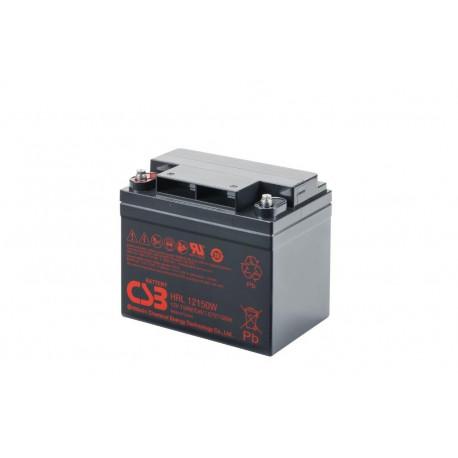 CSB HRL12150W 12 Volt 38Ah 10 Year Sealed Lead Acid Battery