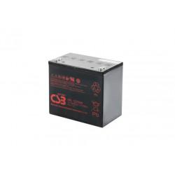 CSB HRL12200W 12 Volt 50Ah 10 Year Sealed Lead Acid Battery