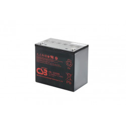 CSB HRL12200W 12 Volt 50Ah 10 Year Sealed Lead Acid Battery