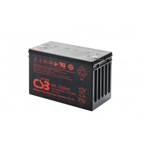 CSB HRL12390W 12 Volt 110Ah 10 Year Sealed Lead Acid Battery