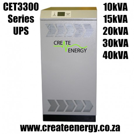 CET3300 Series 10kVA 3 Phase Double Conversion ONLINE UPS