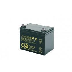 CSB EVX12340 12V 34Ah Deep Cycle VRLA AGM Traction Electric Vehicle Battery