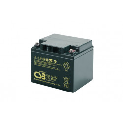 CSB EVX12400 12V 40Ah Deep Cycle VRLA AGM Traction Electric Vehicle Battery