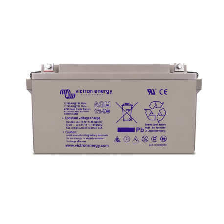 12 Volt 66 AH Victron Sealed Lead Acid Deep Cycle AGM Battery