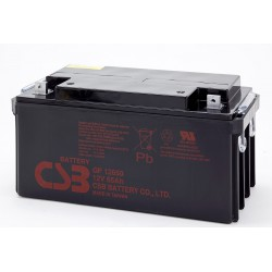 CSB GP12650 12 Volt 65 AH Sealed Lead Acid Battery