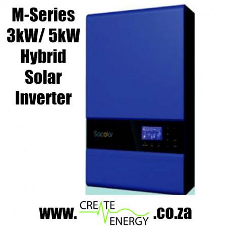 M-Series 5000VA / 5000W Hybrid Solar Inverter / Charger 48V