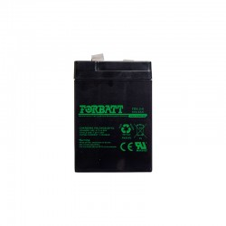 6 Volt 4-5AH Sealed Lead Acid AGM Battery (Forbat)