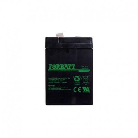 6 Volt 4-5AH Sealed Lead Acid AGM Battery (Forbat)