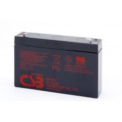 CSB GP672 6 Volt 7-2 AH Sealed Lead Acid Battery