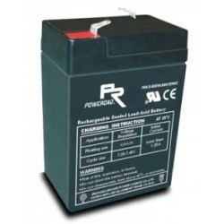 6 Volt 4AH Sealed Lead Acid AGM Battery (Poweroad)