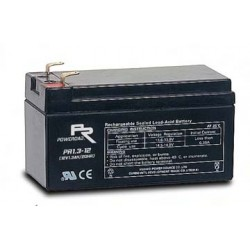 12 Volt 1.3AH Sealed Lead Acid AGM Battery (Poweroad)