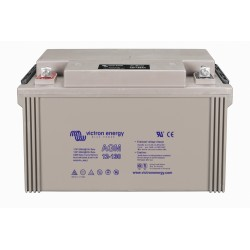 12 Volt 130 AH Victron Sealed Lead Acid Deep Cycle AGM Battery