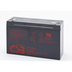 CSB GP6120 6 Volt 12 AH Sealed Lead Acid Battery