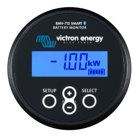 Victron BMV-712 Black Smart with Panel Indicator, Shunt and Bluetooth App