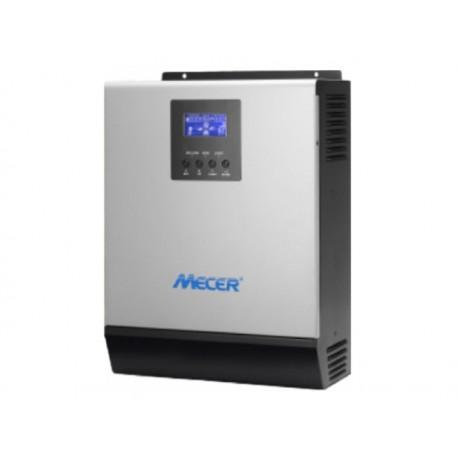 Mecer 3000VA / 3000W Hybrid Solar Inverter / Charger 600W MPPT 220VAC 24VDC