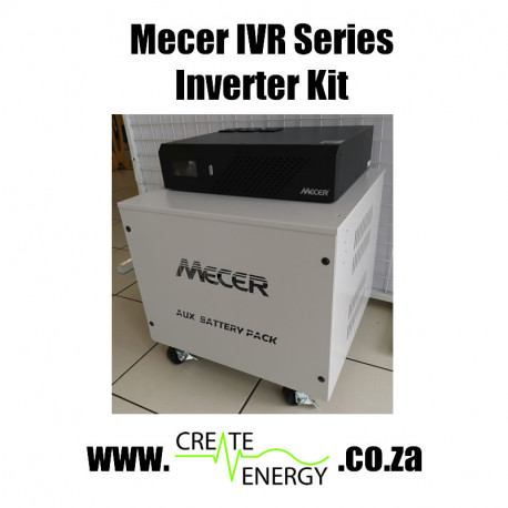 Create Energy Mecer IVR-2400LBKS 2400VA Inverter / Charger Trolley Kit