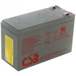 CSB HRL1234WF2 12 Volt 9 AH Sealed Lead Acid Battery