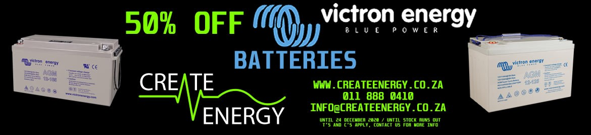 CLICK HERE TO VIEW THE VICTRON BATTERY LESS 50% END OF 2020 SALE